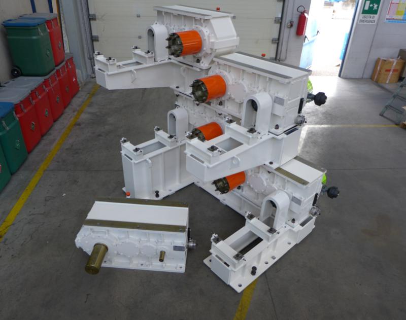 riduttore velocità motore settore plastica